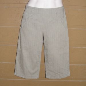 new!! DEREK LAM 10 CROSBY Pants 8 Cropped ALTERED